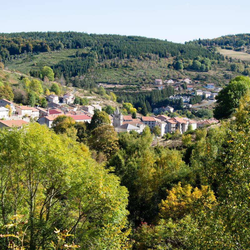 Village de Saint Cirgues en Montagne