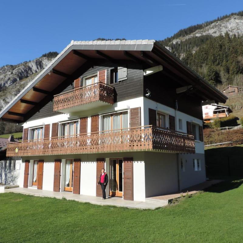 Appartement Mont de Grange dans chalet - 62m² - 2 chambres - David-Cruz Françoise
