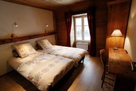 chambre 2 avec 2 lits de 90 jumelables