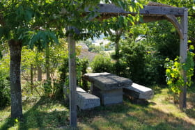 Pergola du jardin