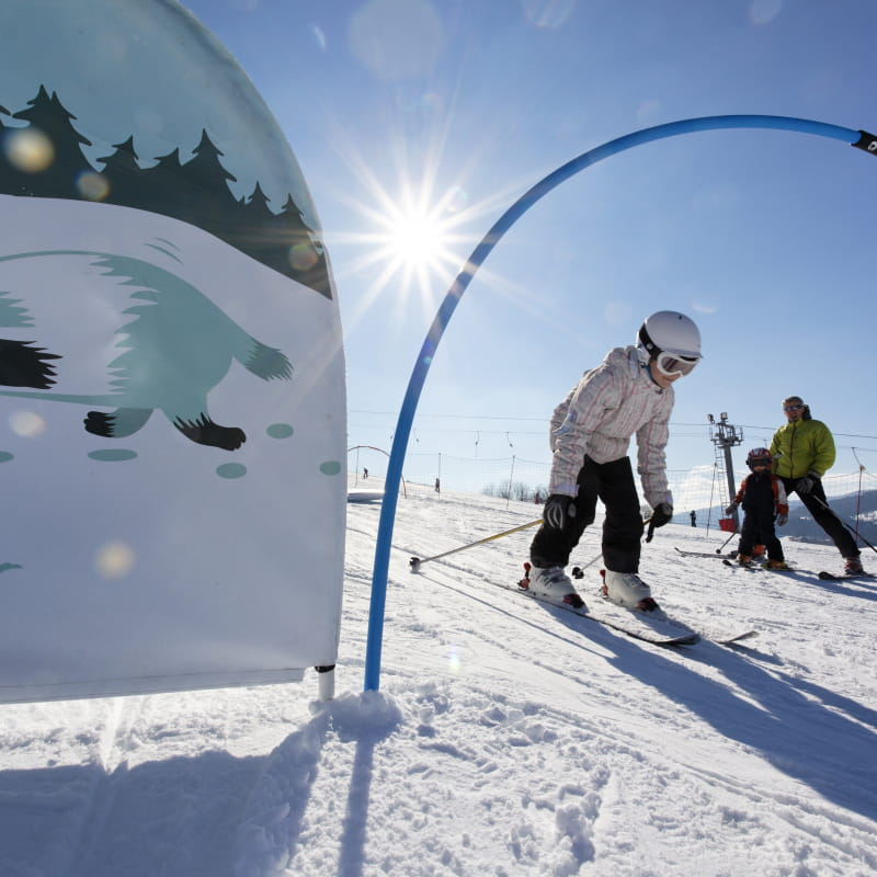 Espace ludique ski alpin