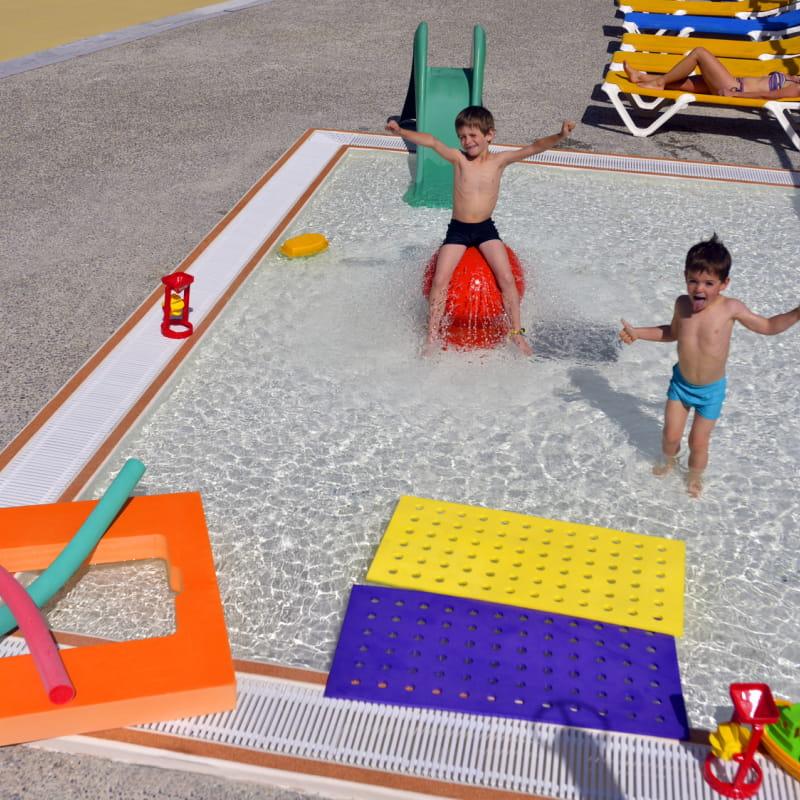 Espace enfant de la piscine Magic Pool