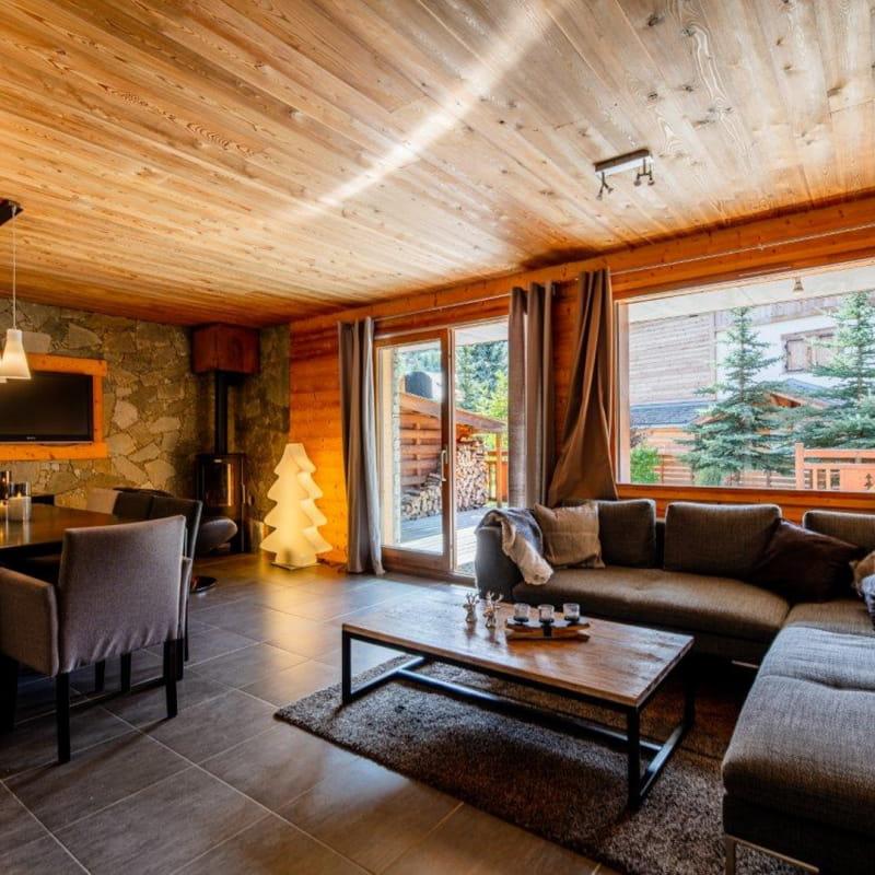 SNOWY CHALET - Appartement 8 personnes (6 adultes + 2 enfants)