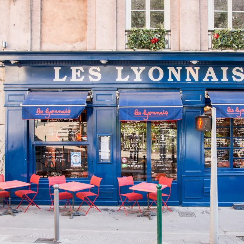 Bouchon Les Lyonnais - Façade