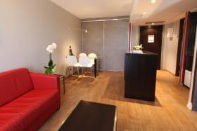 Salon T2 avec sofa bed