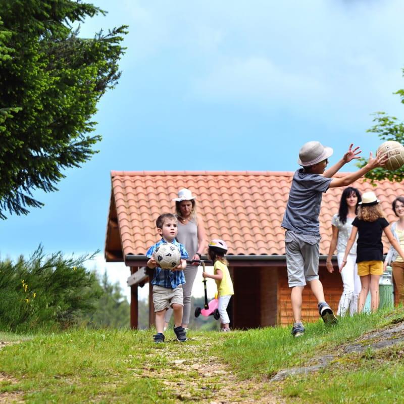 Hameau des Gîtes l'Orée du Pichier - Domaine de Chalencon