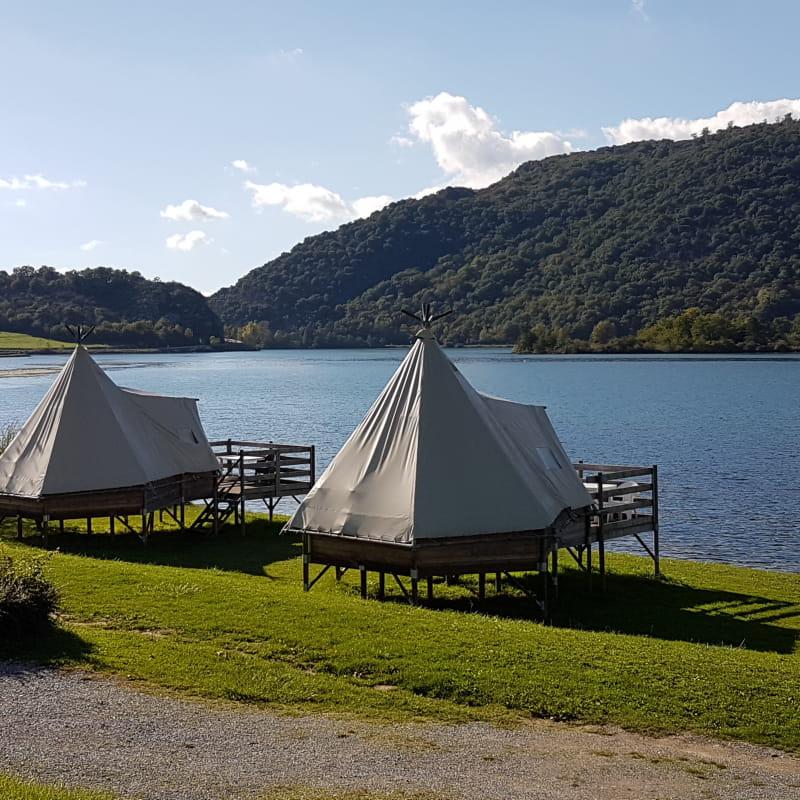 Les Tipis du Camping du Lac du lit du Roi