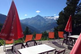A Val Cenis Lanslevillard, le restaurant d'altitude La Ranôva, à 15 mn à pied du télésiège de l'Arcelle