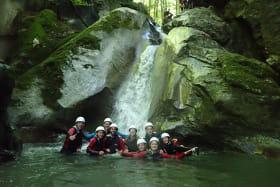 Sortie canyoning en Haute-Savoie