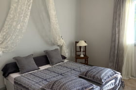 La chambre grise (chambre pour 1 ou 2 personnes)