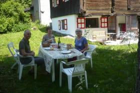 Chalet Cellier Jardin