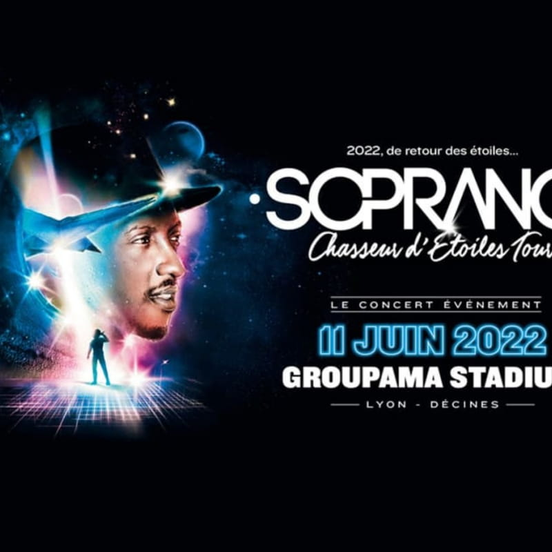 Affiche Soprano - Chasseur d'Etoiles Tour