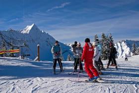 Cours collectif ski alpin ESF Saint Jean d'Aulps