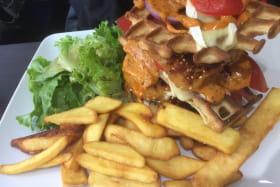 Burgers avec gaufre salée tao by JM