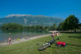 Plan d'eau de Gresy sur Isère