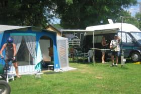 Camping de la Haute Sioule Saint Bonnet Près Orcival emplacement 1