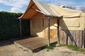 Tente trappeur - Isle de la Serre