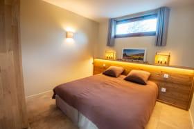 chambre en configuration lit de 160x200
