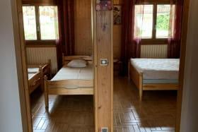 Vue sur les deux chambres