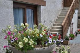 escalier pour accès à chambre l'Estive