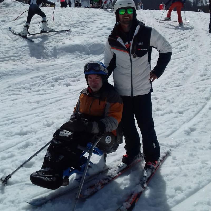 Handiski avec Skisession