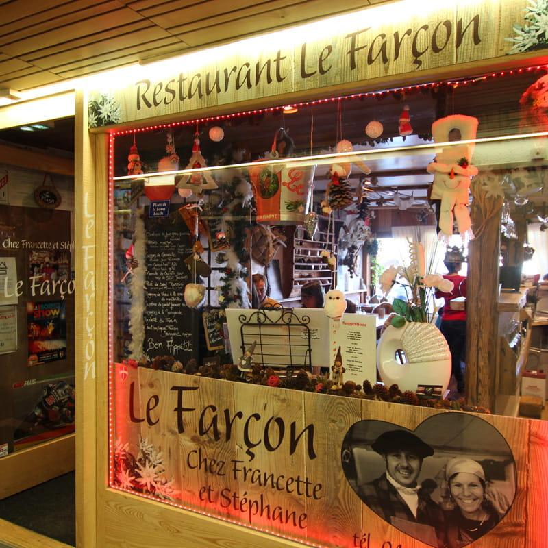 Façade restaurant le Farçon