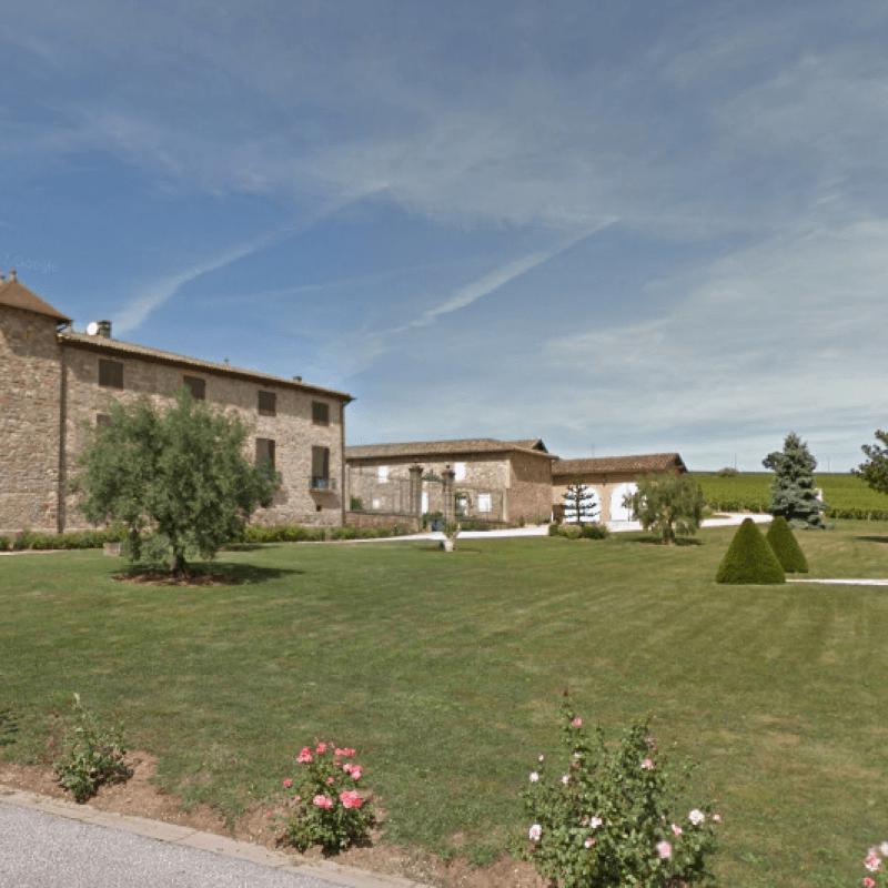 arrivée au Château de Cercy