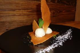 Dessert savoureux au restaurant l'Echappée à Modane