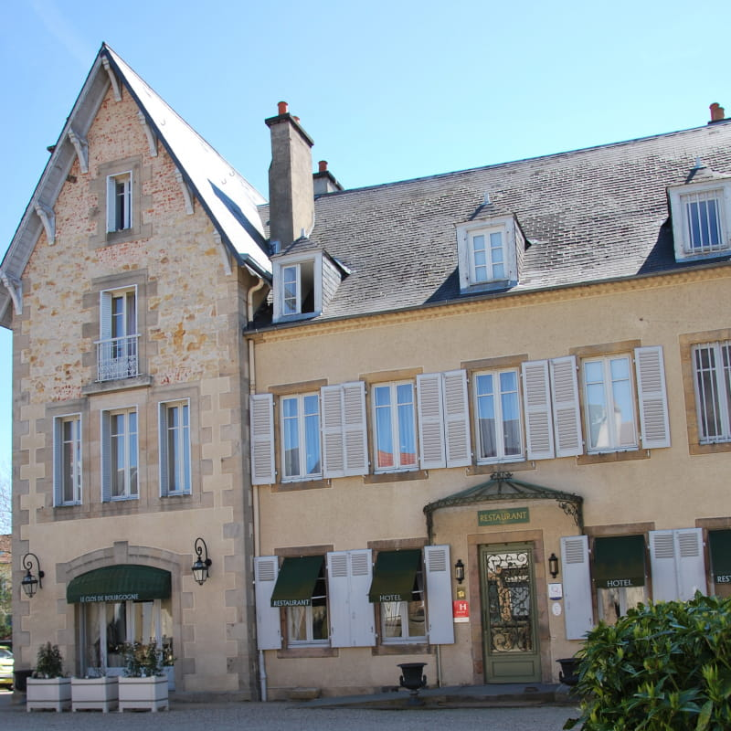 Hôtel-restaurant Le Clos de Bourgogne