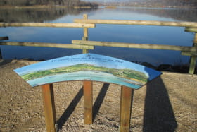 table de lecture confluence Rhône - Fier