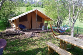 Camping Belle Roche - Lodge Nature