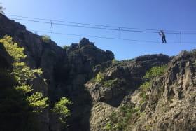 Via ferrata - Grimpéo