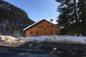 Chalet hiver face nord