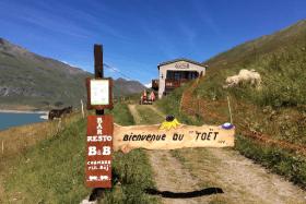 Le gîte d'alpage du Toët au Mont Cenis, à Val Cenis-Lanslebourg