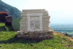 Sculpture Culoz - La vigne, la pierre, le Bugey