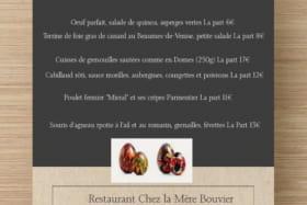 Chez La Mère Bouvier