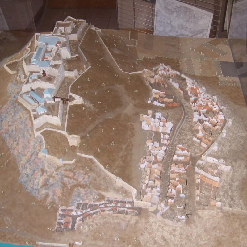 Copie du Plan-Relief de l'ancienne citadelle de Montmélian