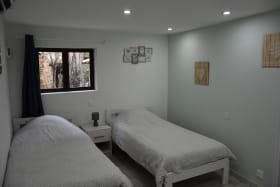 interieur chambre lit