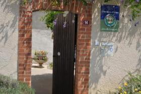 entrée de la maison d'hôtes La Loge aux Hirondelles