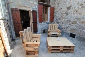 2ème terrasse ombragée - salon de détente