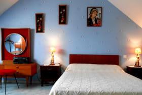Chambre principale avec lit de 140