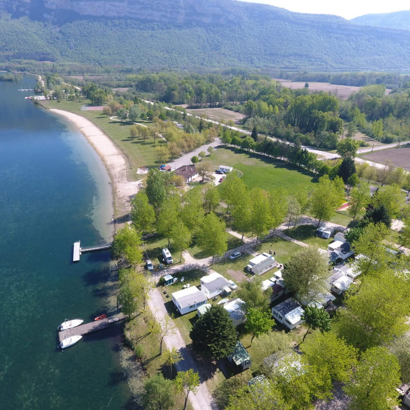 Camping du Point Vert - Serrière-de-Briord