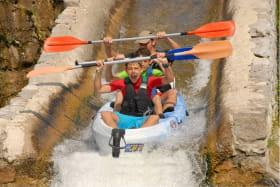 Canoë - Kayak de Pradons à Sampzon - 10 km avec Cap07 Canoë