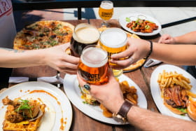 bar à bière entre amis