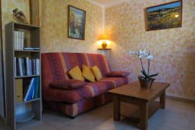 La Petite Maison du Meunier à Vauxrenard (Rhône - Beaujolais) : le séjour