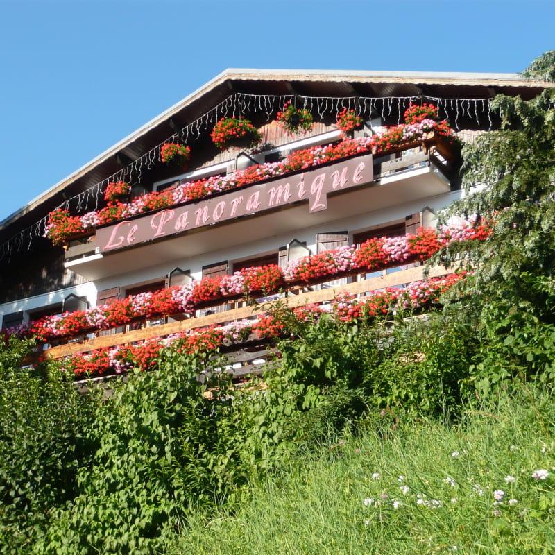 Façade hôtel panoramique