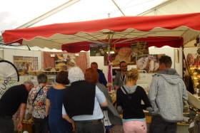 Sur le marché du samedi matin à Thônes