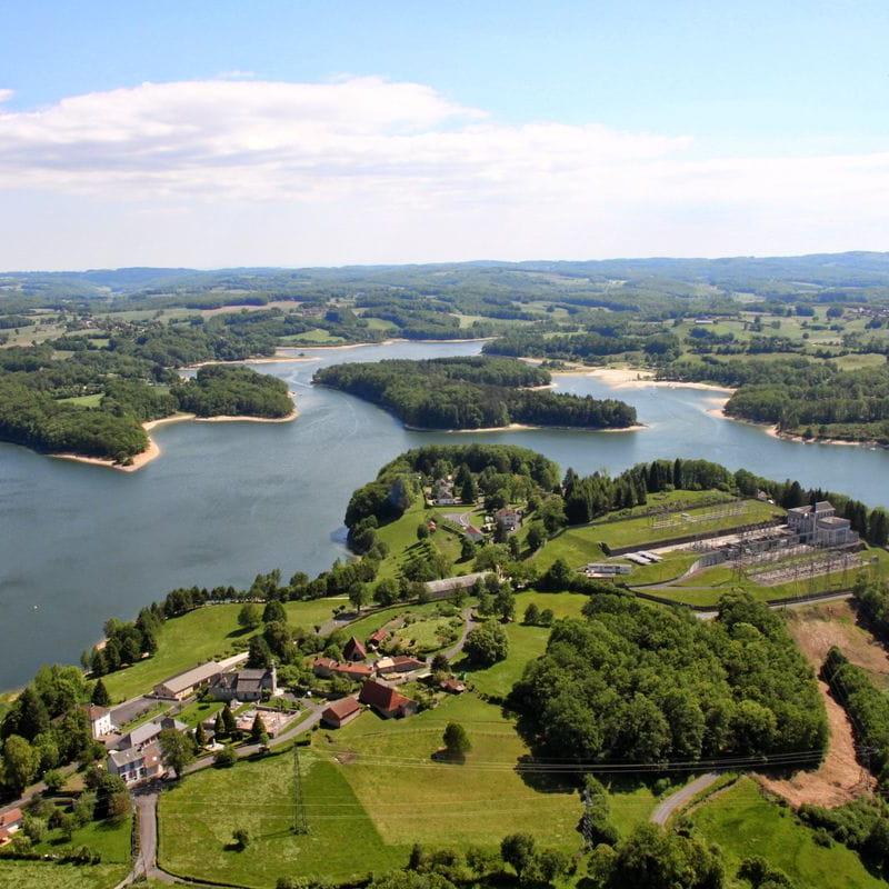 Circuit voiture : La Châtaigneraie des Lacs