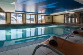 Résidence CGH le Grand Bornand - piscine
