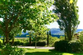 Gite le Paradis*** Pont en Royans Vercors - Gite 319102 - Vert - Vue sur le Vercors